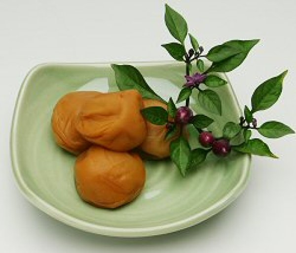 画像1: 紀州南高うす塩風味梅(塩分8%) (1)